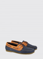 Aruba Deck Shoe - Denim/Tan