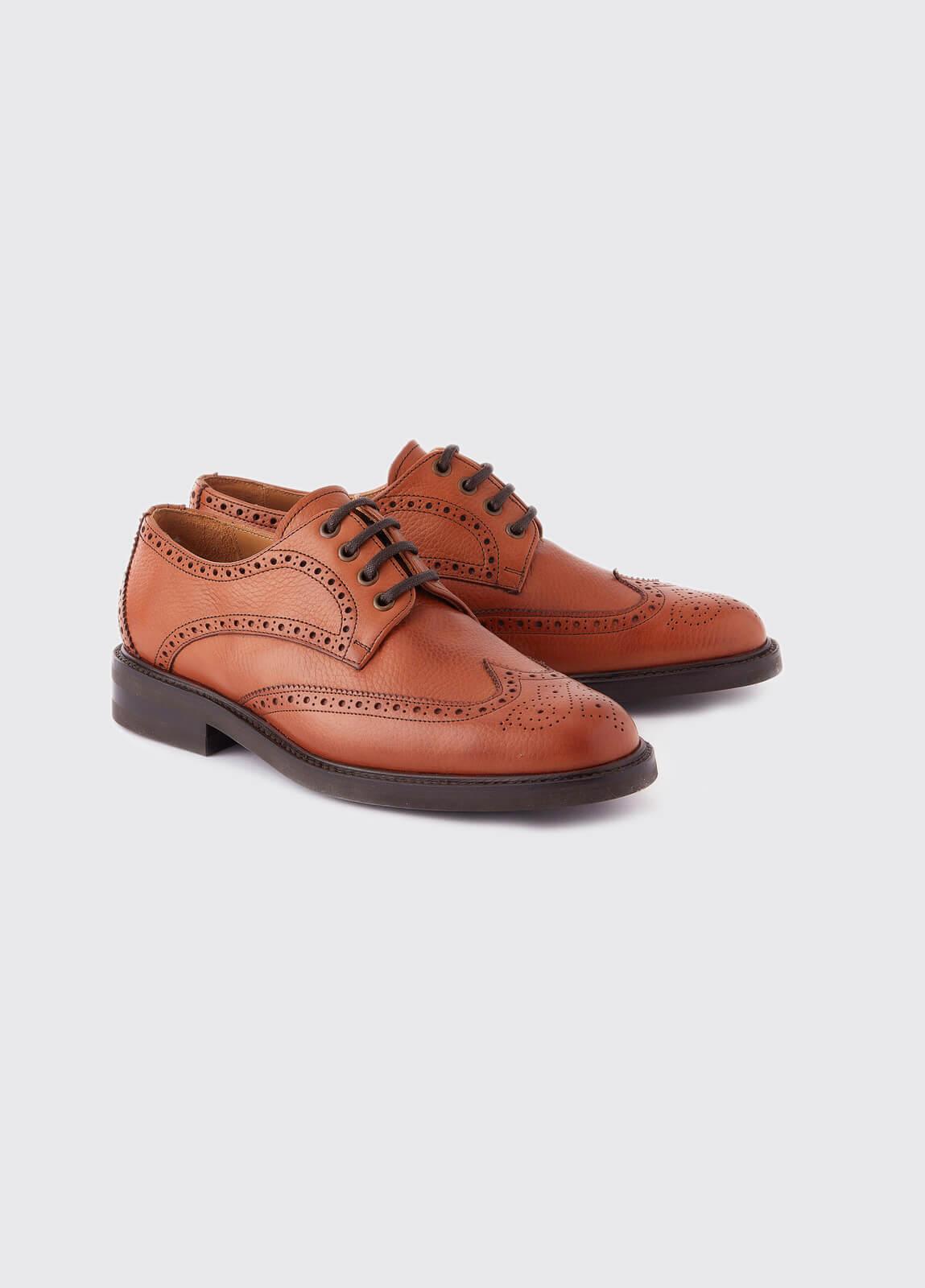 Derry Goodyear Brogue Boot - Tan