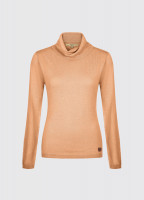 Redmond Classic Roll Neck Knitted Sweater - Old Gold