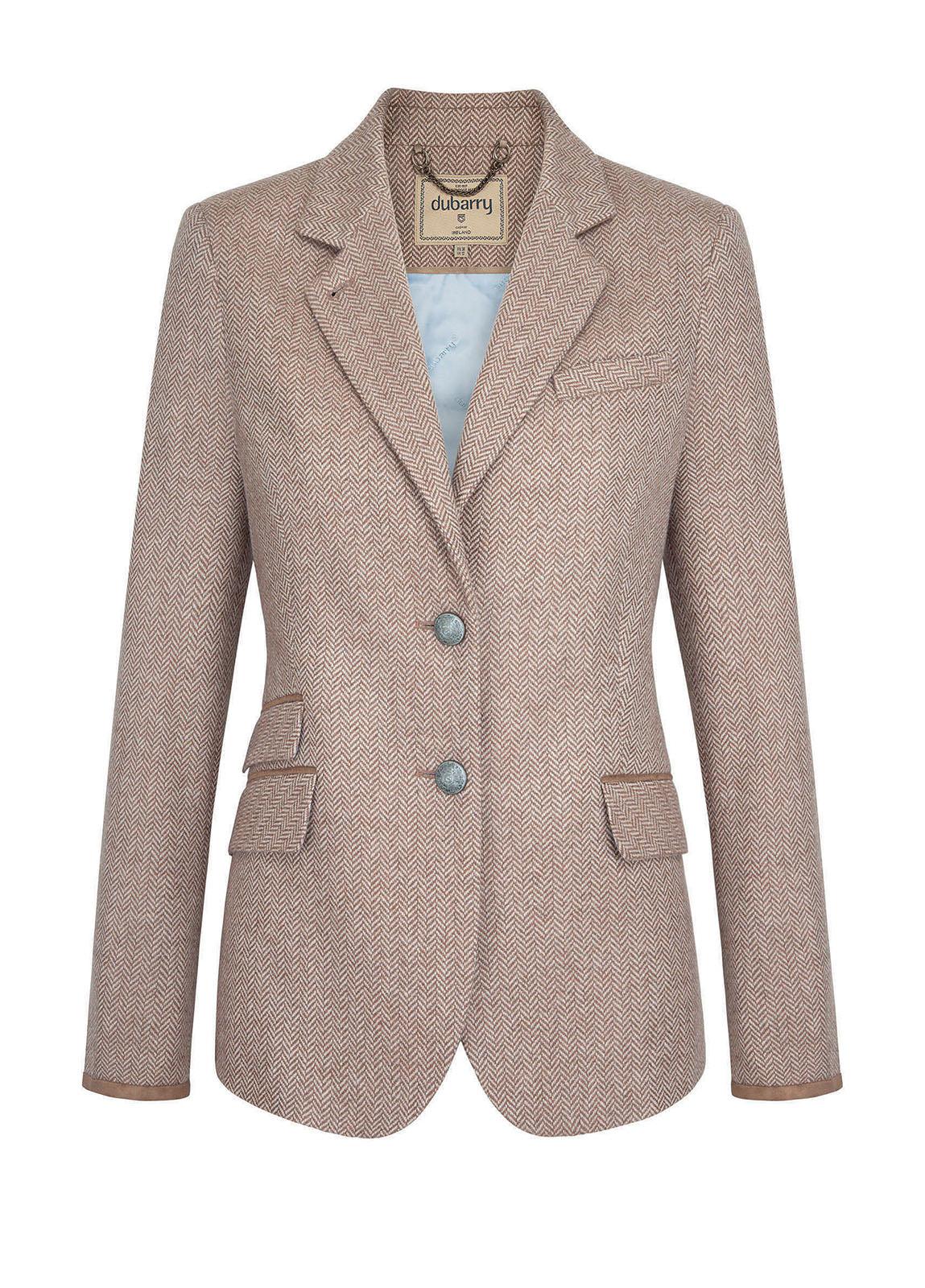 Dubarry_Birch Women's Tweed Jacket - Camel_Image_2