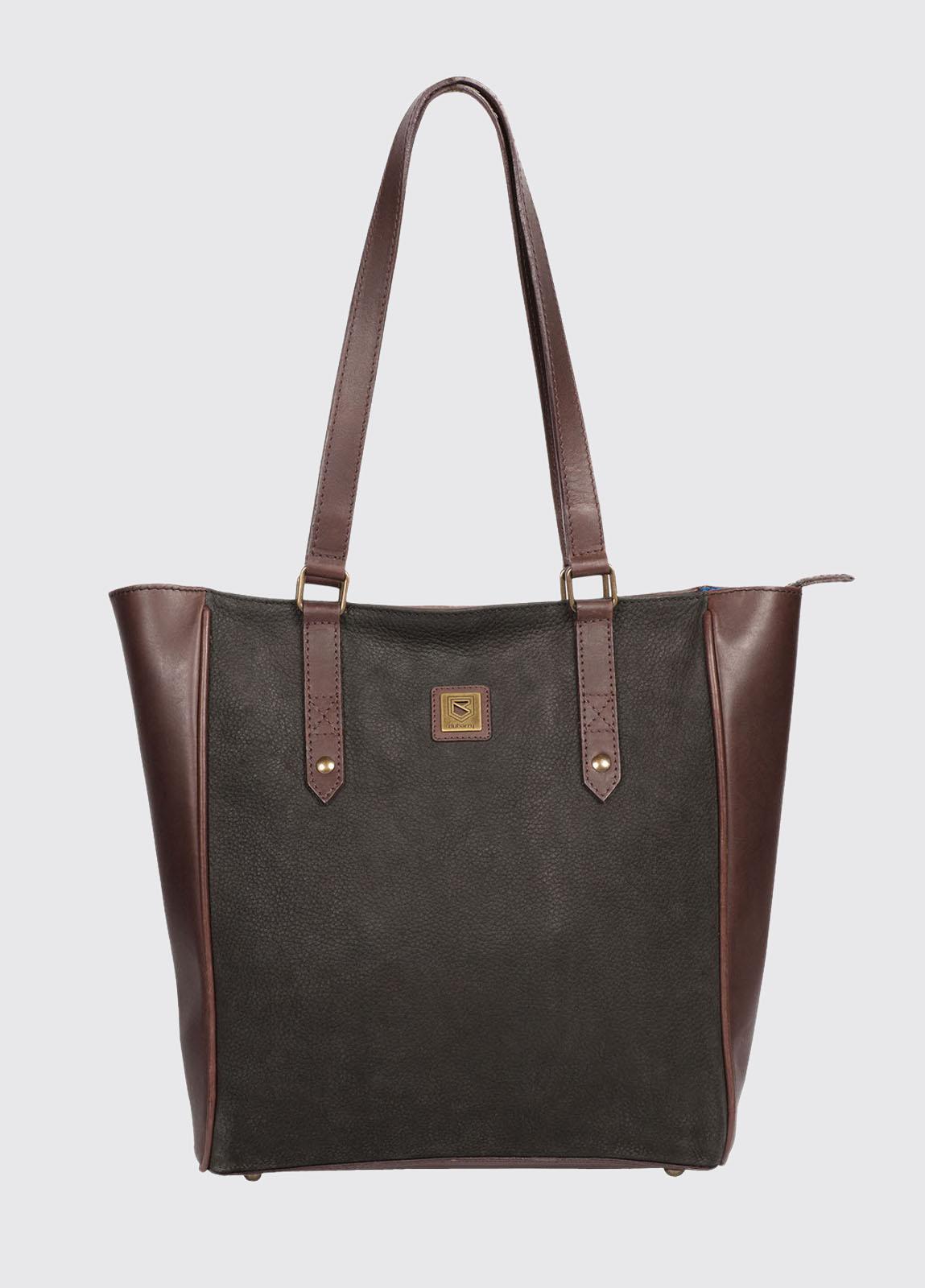 Bandon Tote Bag - Black/Brown