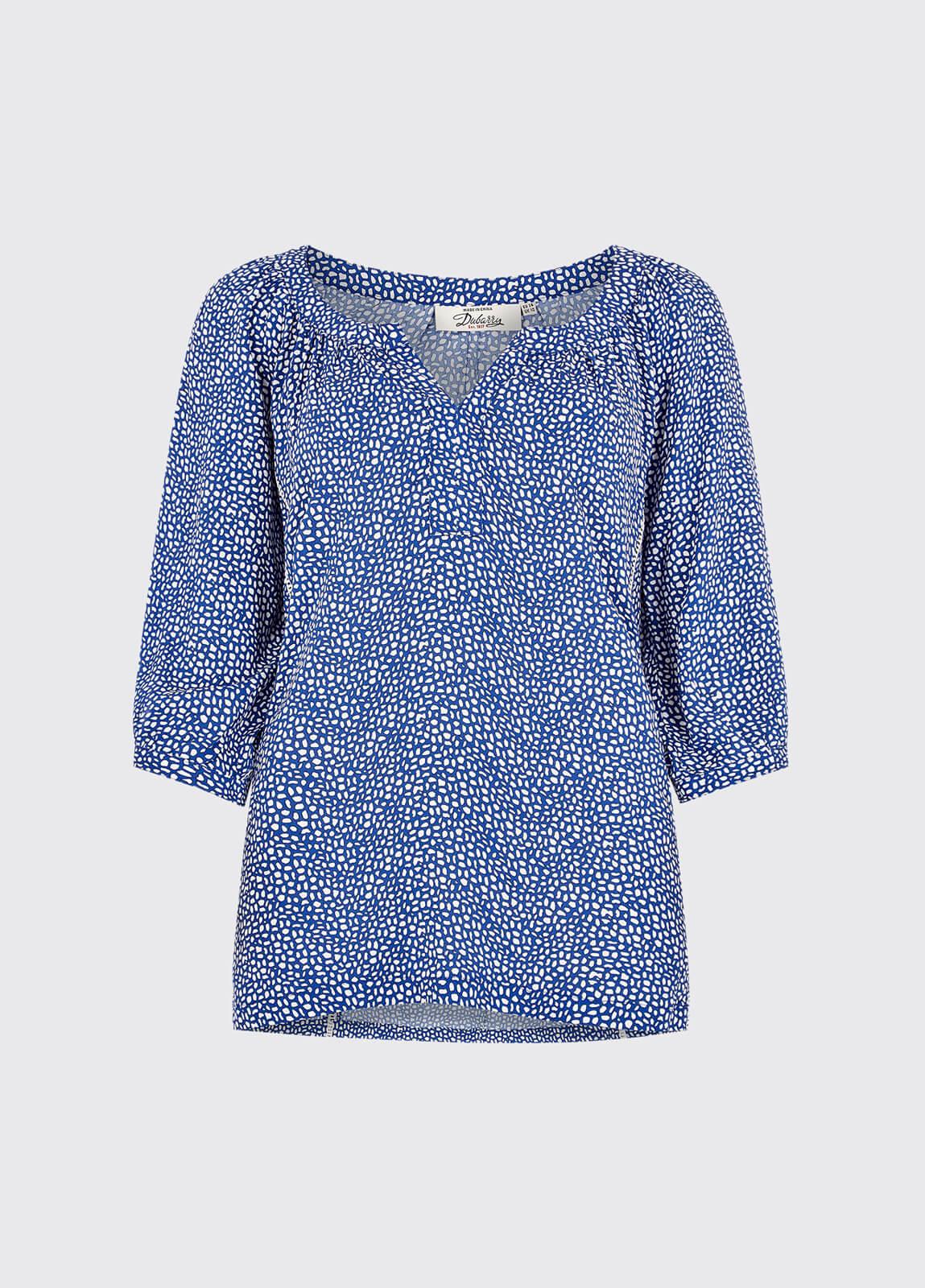 Dahlia Shirt - Royal Blue