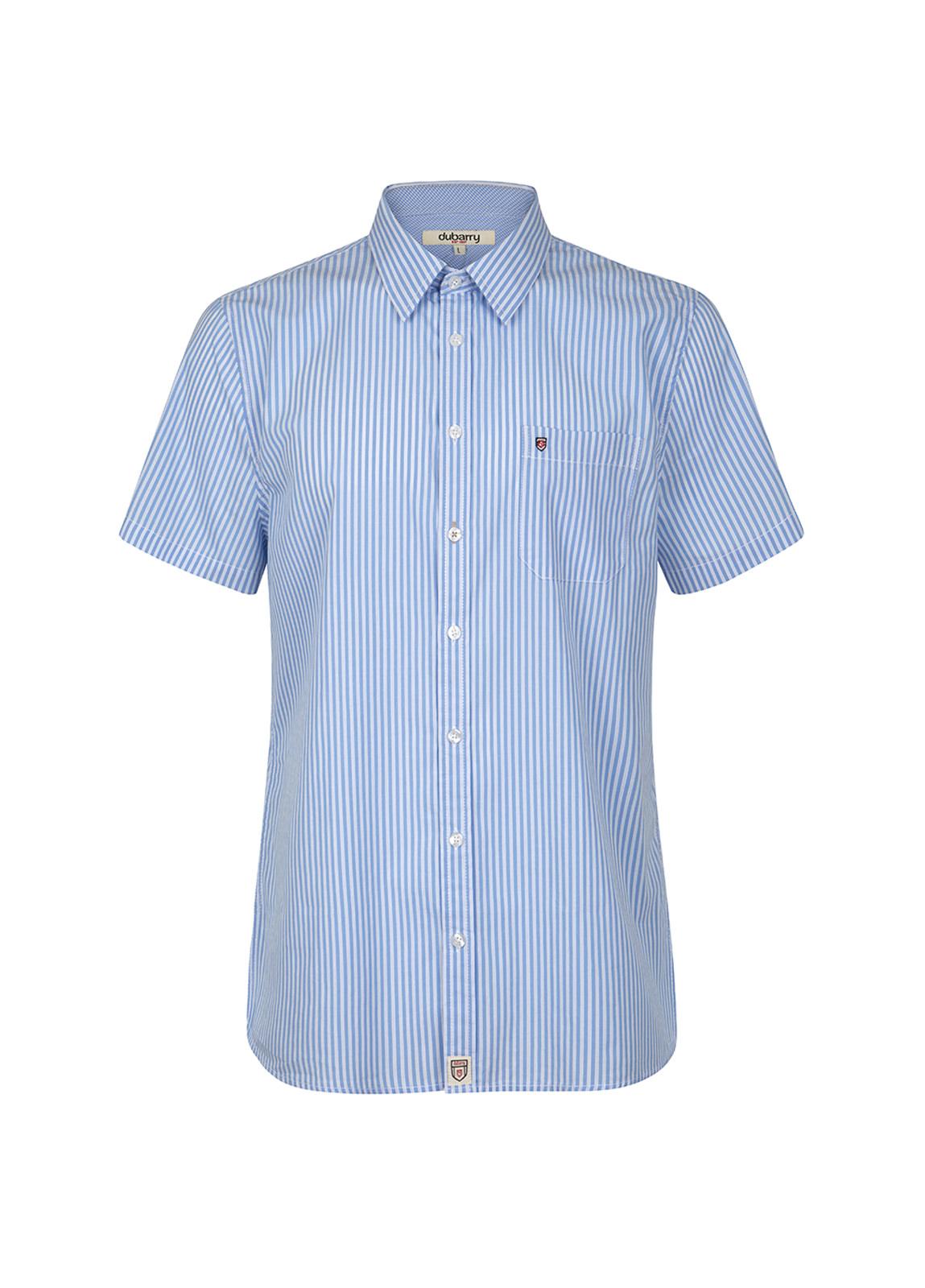 Dubarry_Blackrock Short-Sleeved Striped Shirt - Blue Multi_Image_2