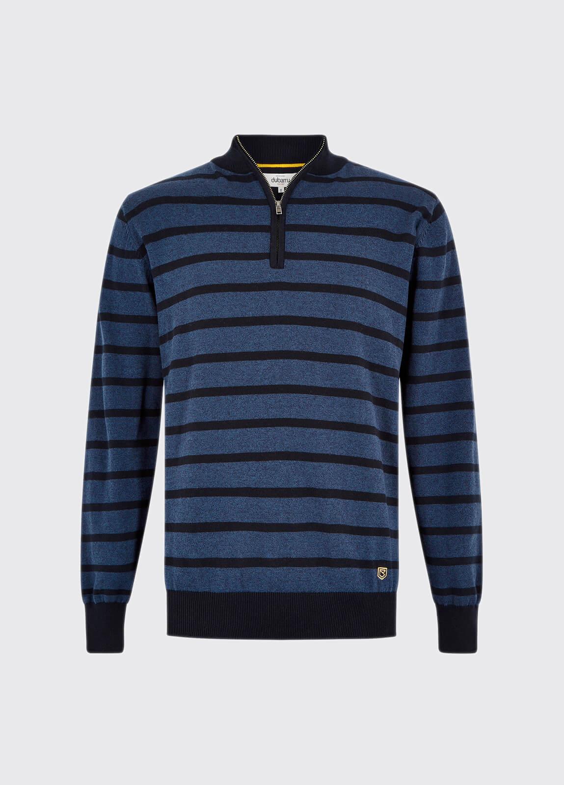 Abbeyville Sweater - Navy Multi