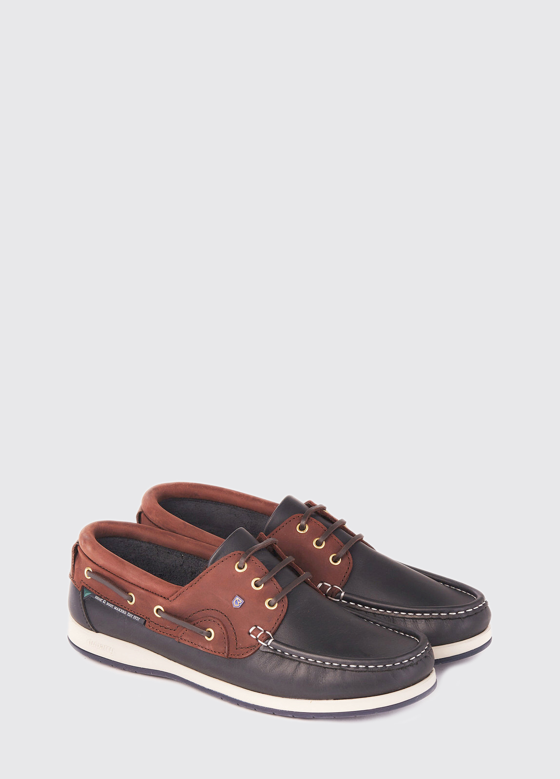 Commodore XLT Deck Shoe - Navy/Brown