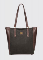 Bandon Tote Bag - Black/Brown