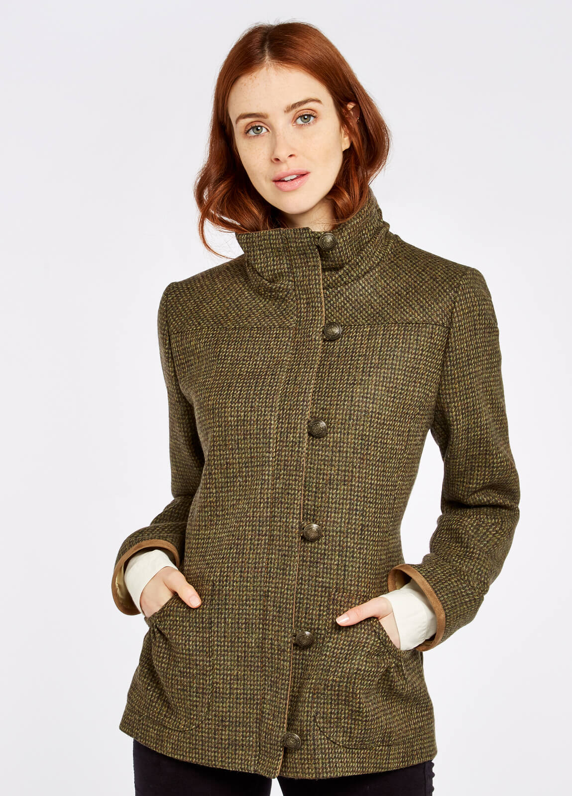 Bracken_Tweed_Coat_Heath_on_model