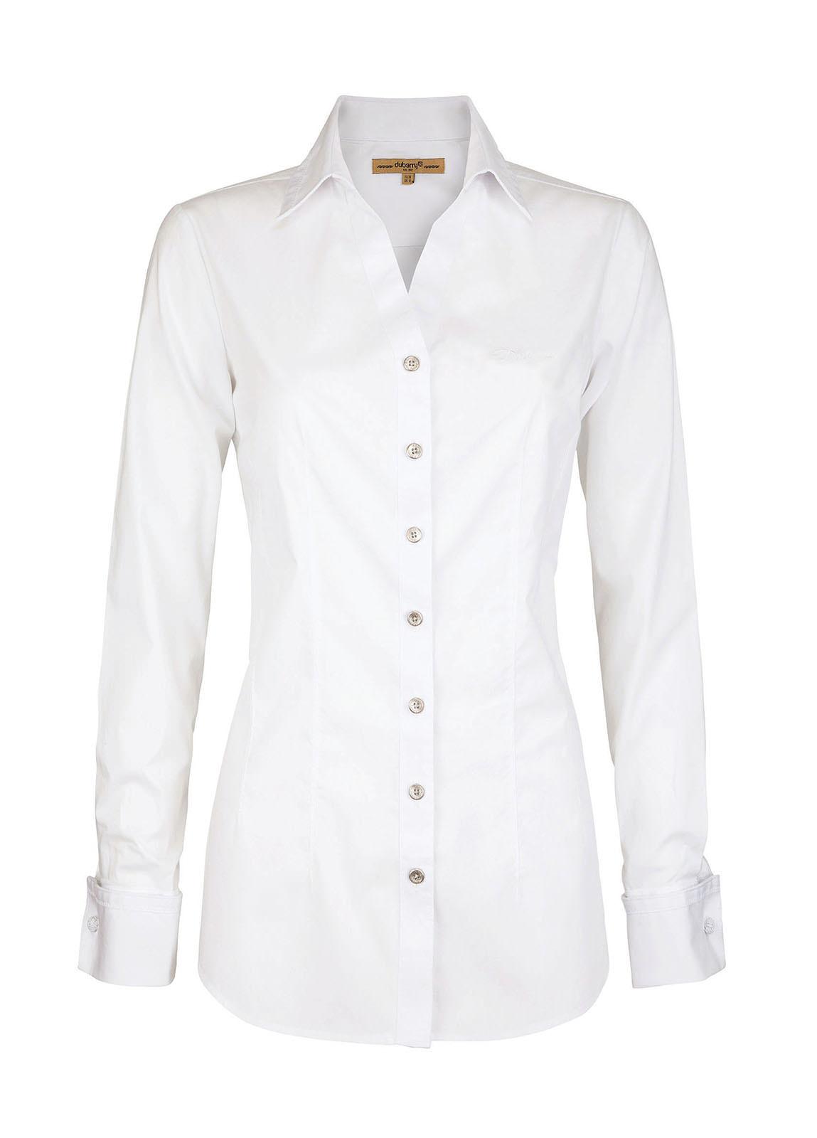 Lily Ladies Shirt - White