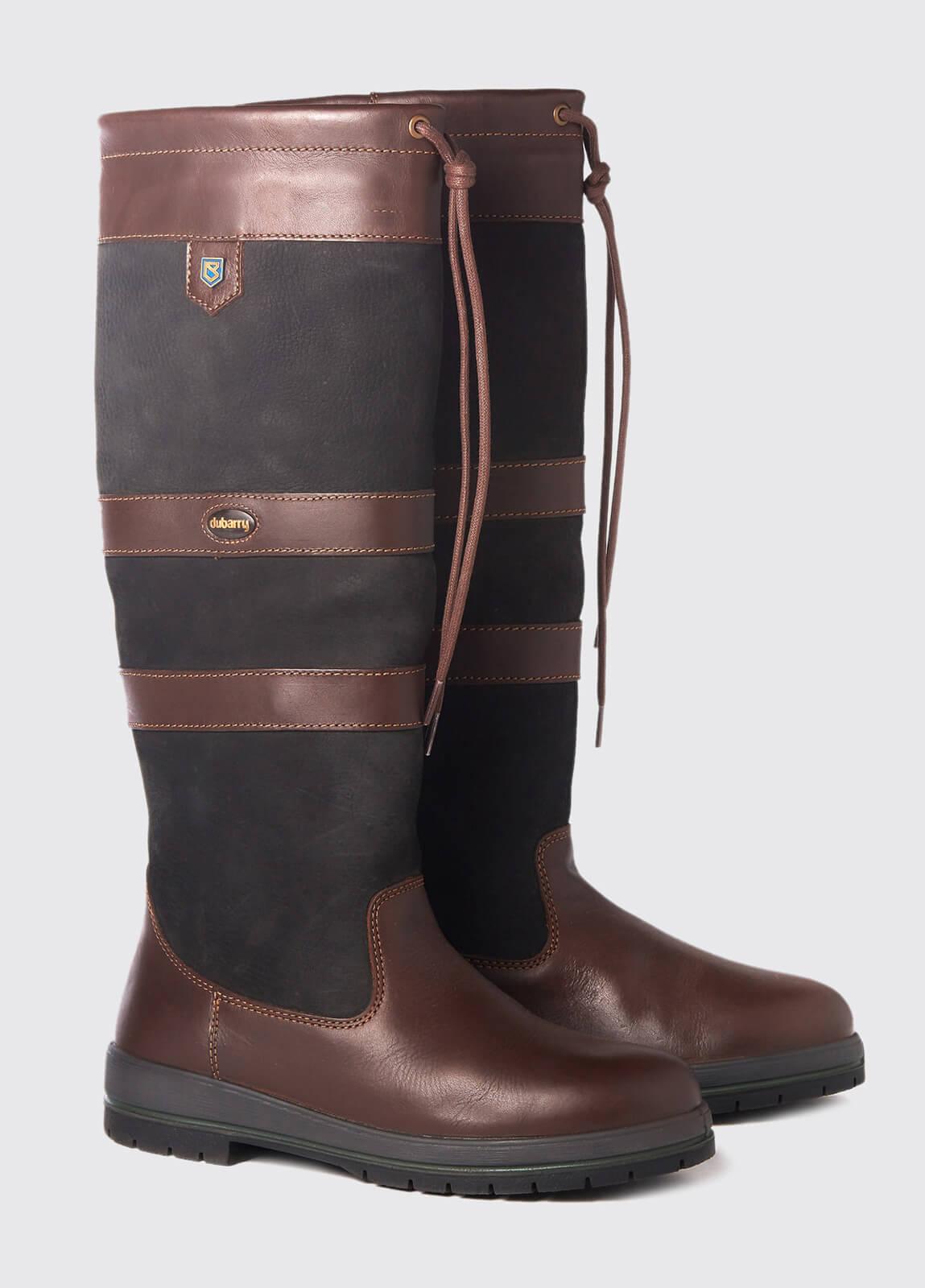 Galway SlimFit™Country Boot - Black/Brown