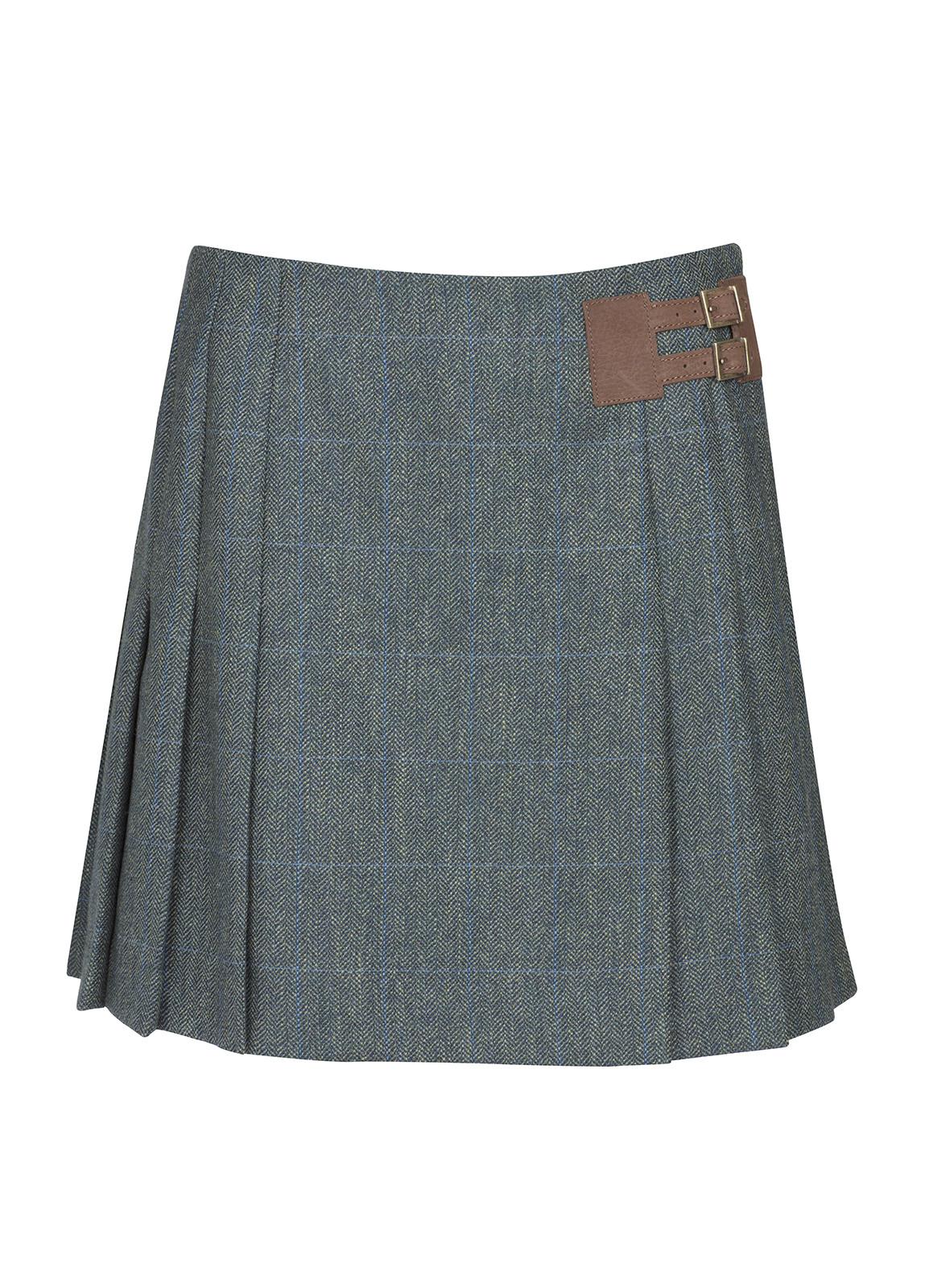 Dubarry_ Foxglove Tweed Skirt - Mist_Image_2