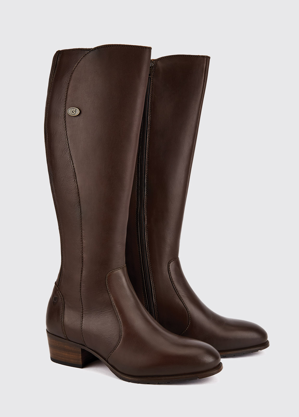 Downpatrick Knee High Boot - Old Rum