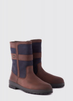 Roscommon Country Boot - Navy/Brown