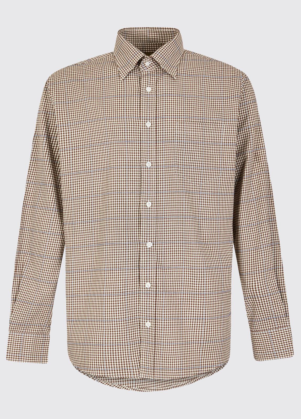 Whitegate Shirt - Cigar