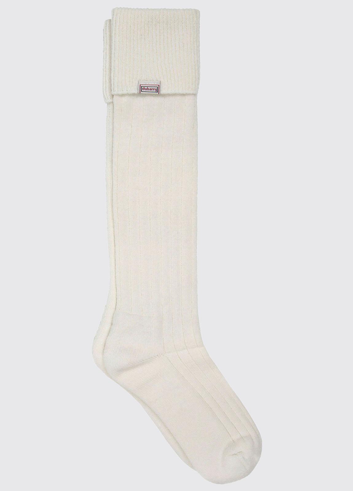 Alpaca Socks - Cream