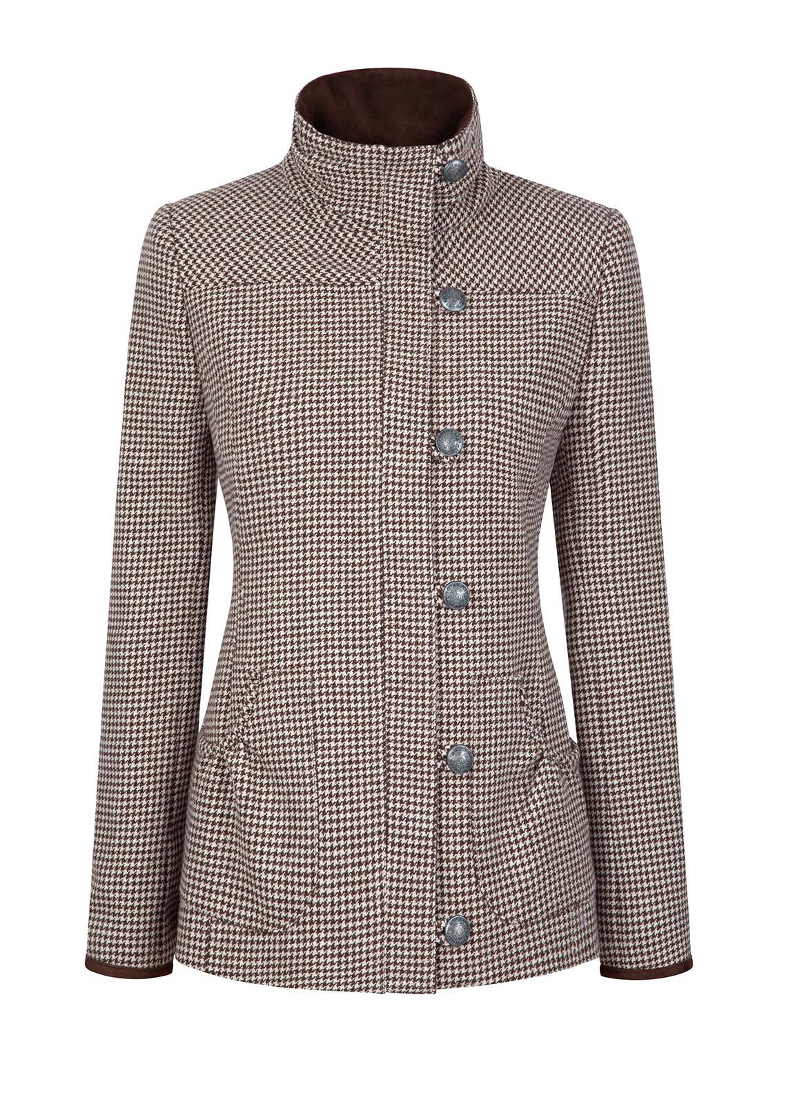 Dubarry_Bracken Tweed Coat - Cafe_Image_2