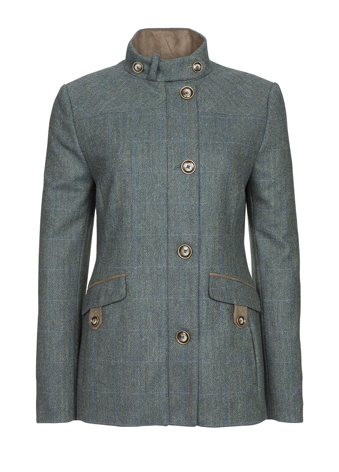 Dubarry_ Heatherbell Tweed Jacket - Mist_Image_2