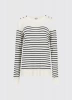 Portlaw lightweight Sweater - White