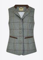 Spindle Tweed Waistcoat - Sorrel