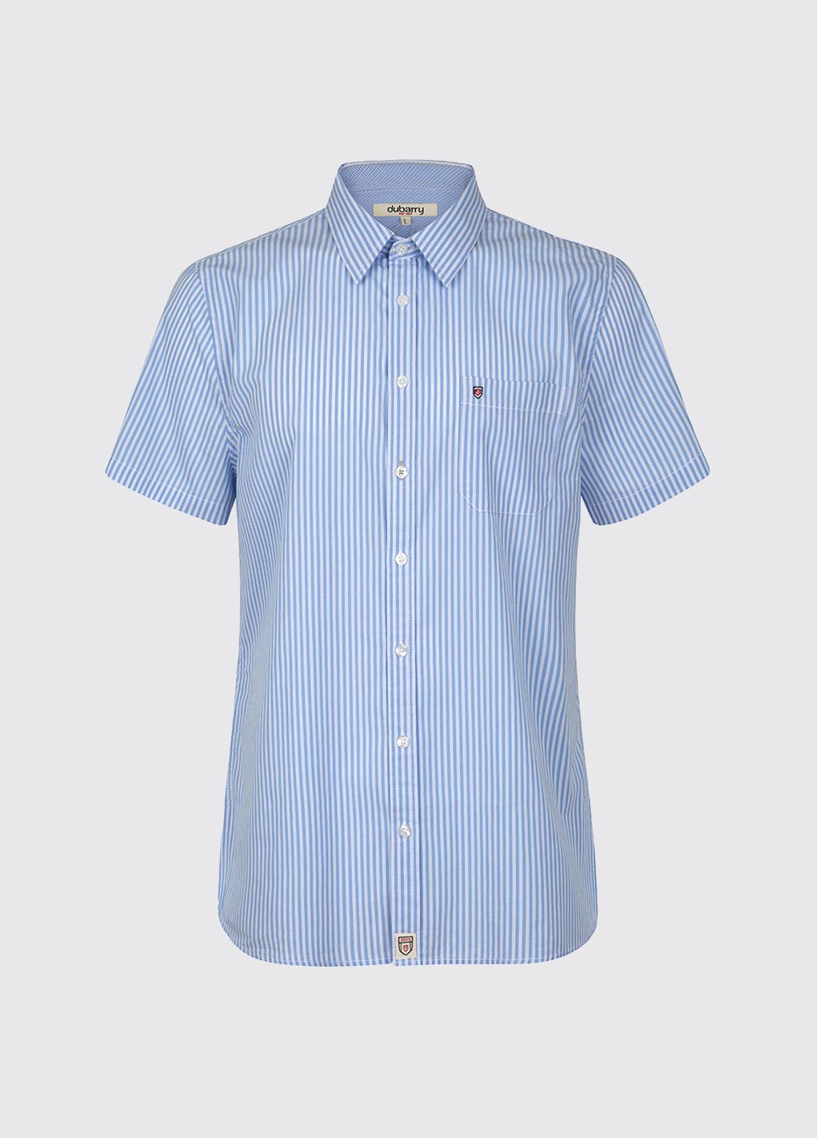 Blackrock Short-Sleeved Striped Shirt - Blue Multi