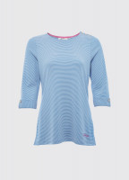Portmagee Stripe Top - Blue