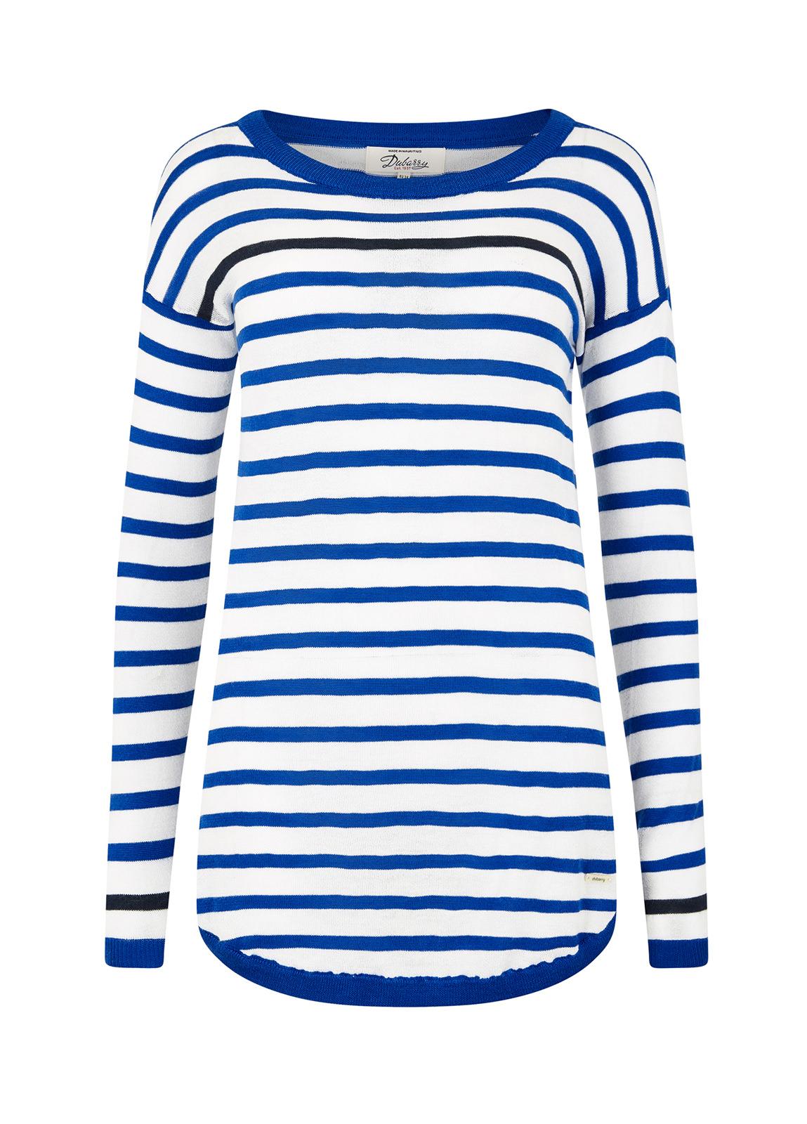 Dubarry_Abbeyside Sweater - Royal Blue_Image_2