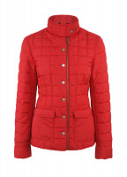 Carra Womens Quilted Jacket - Red