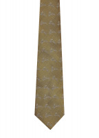 Lacken Silk Tie - Gold