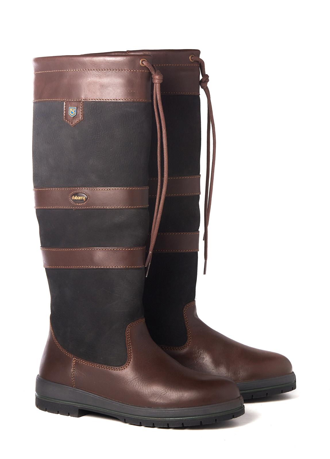 Galway SlimFit™ Country Boot - Black/Brown