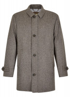 Kingham Tweed Coat - Elk