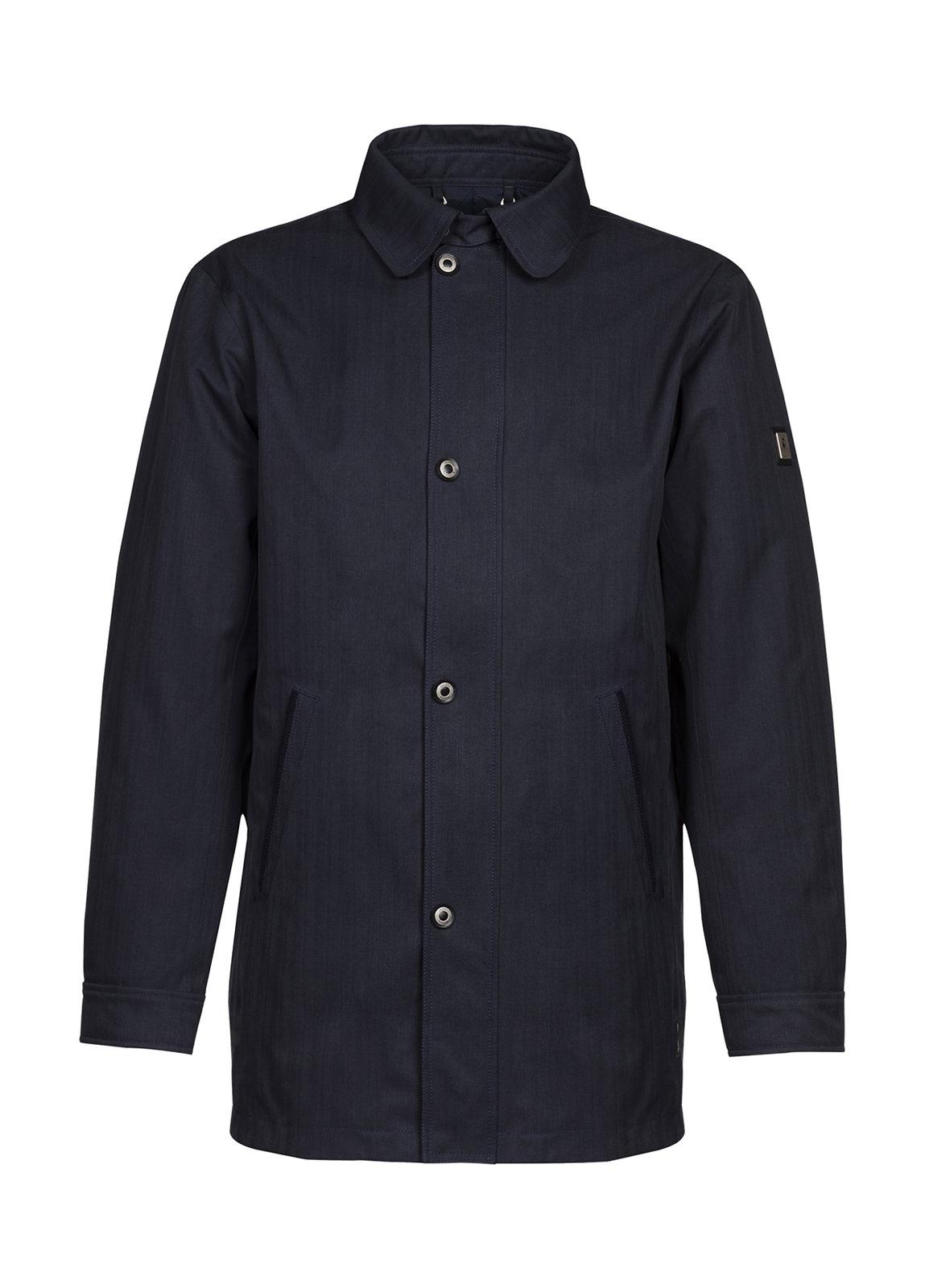 Belturbet Overcoat - Navy