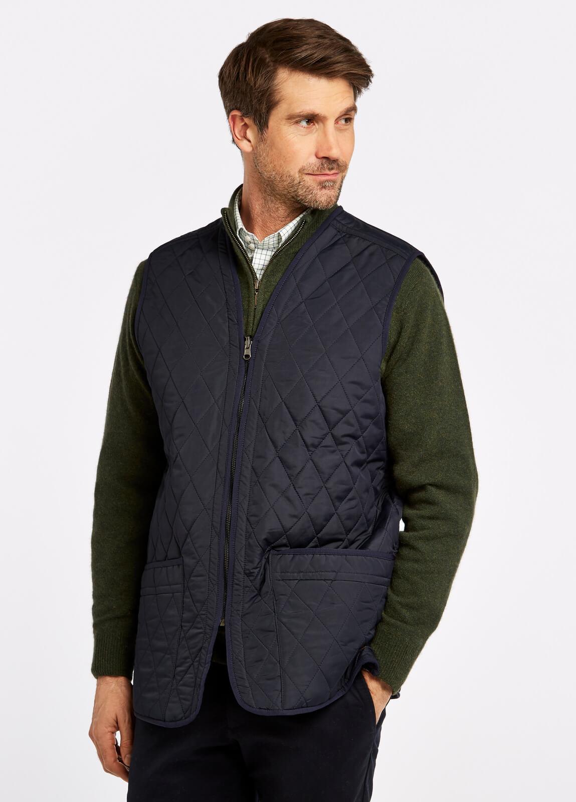 Ballygar_Quilted_Waistcoat_Navy_on_model