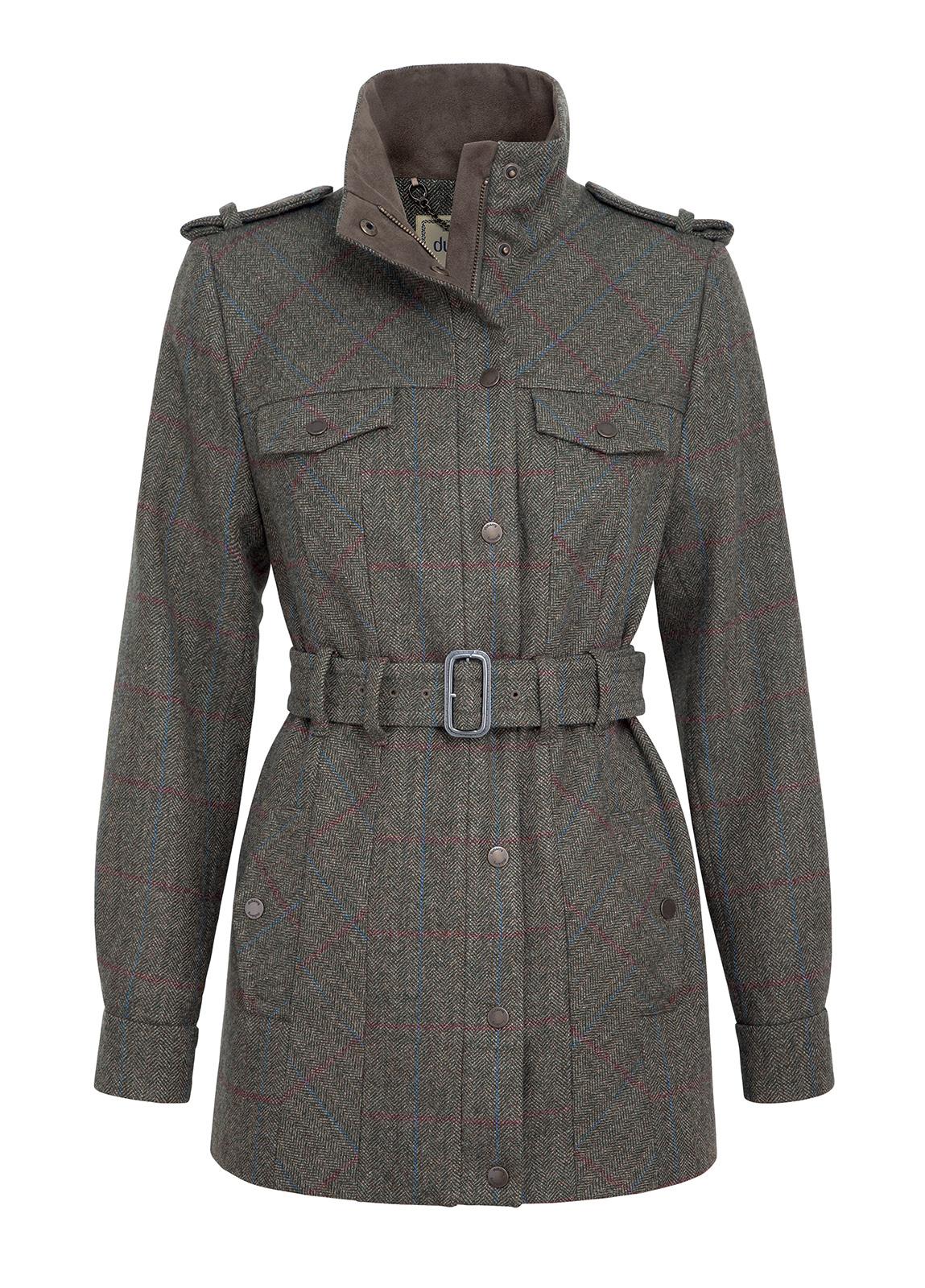 Dubarry_Rowan Women?s Tweed Utility Jacket - Moss_Image_2