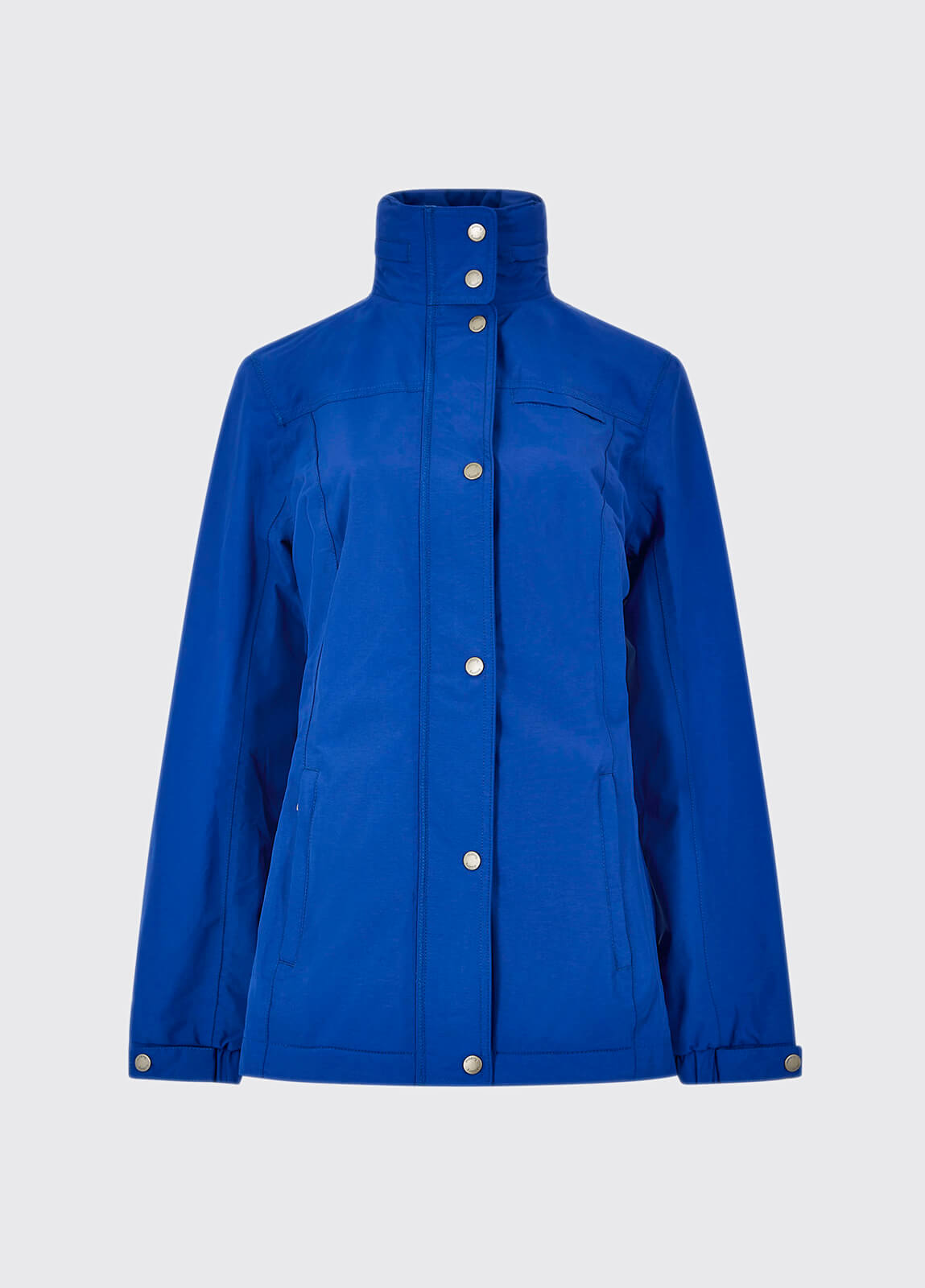 Aran Jacket - Royal Blue