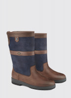 Kildare ExtraFit™ Country Boot - Navy/Brown