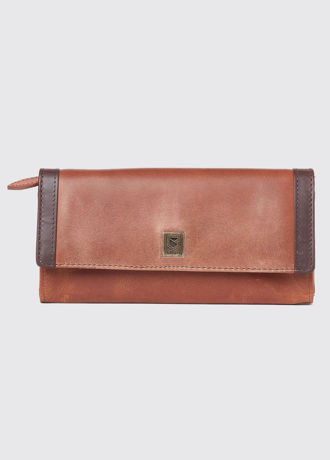 Collinstown Leather Wallet - Chestnut