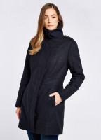 Hedgerow Tweed Coat - Navy