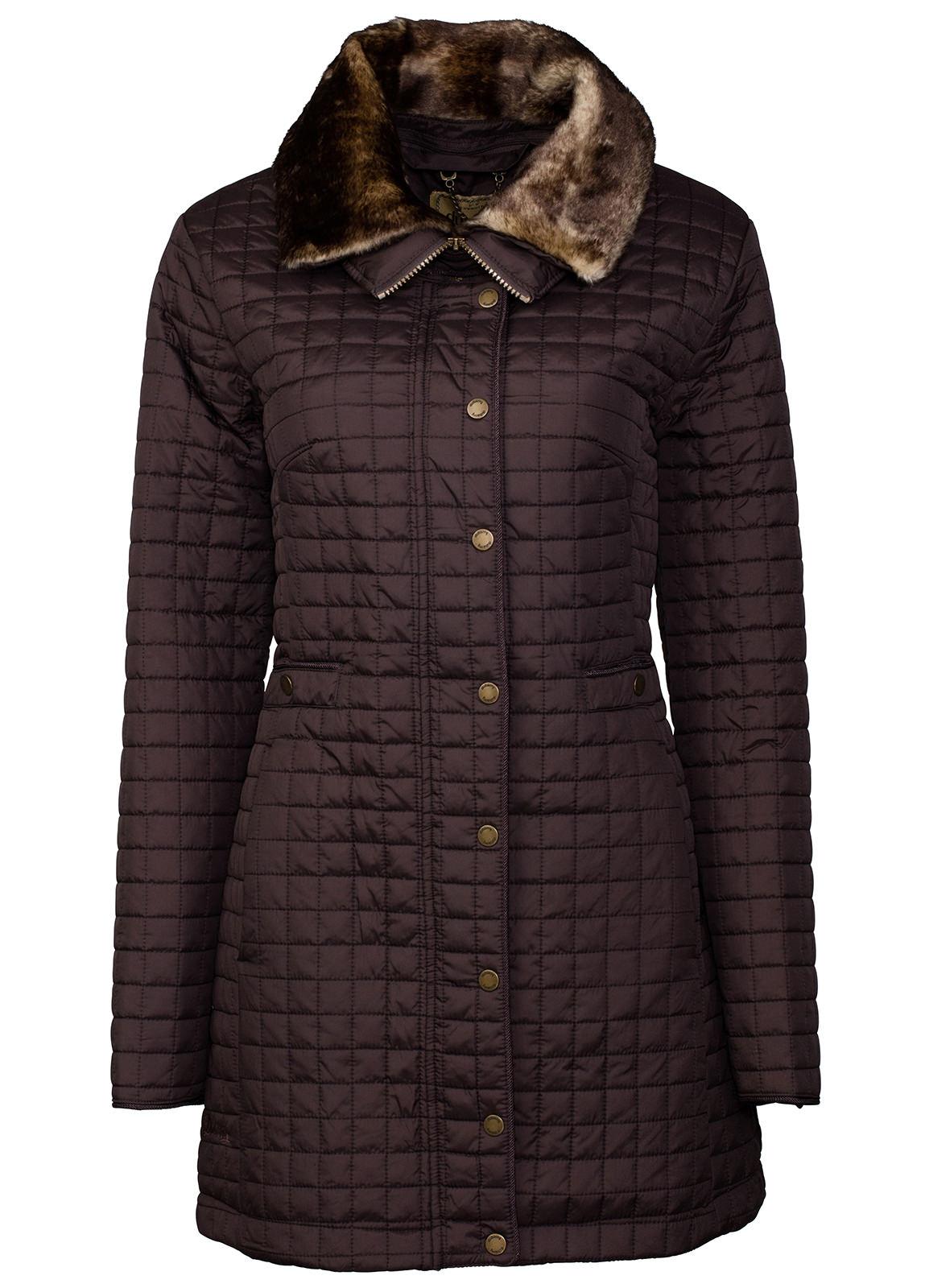 Dubarry_ Abbey Women's Quilted Jacket - Mocha_Image_2
