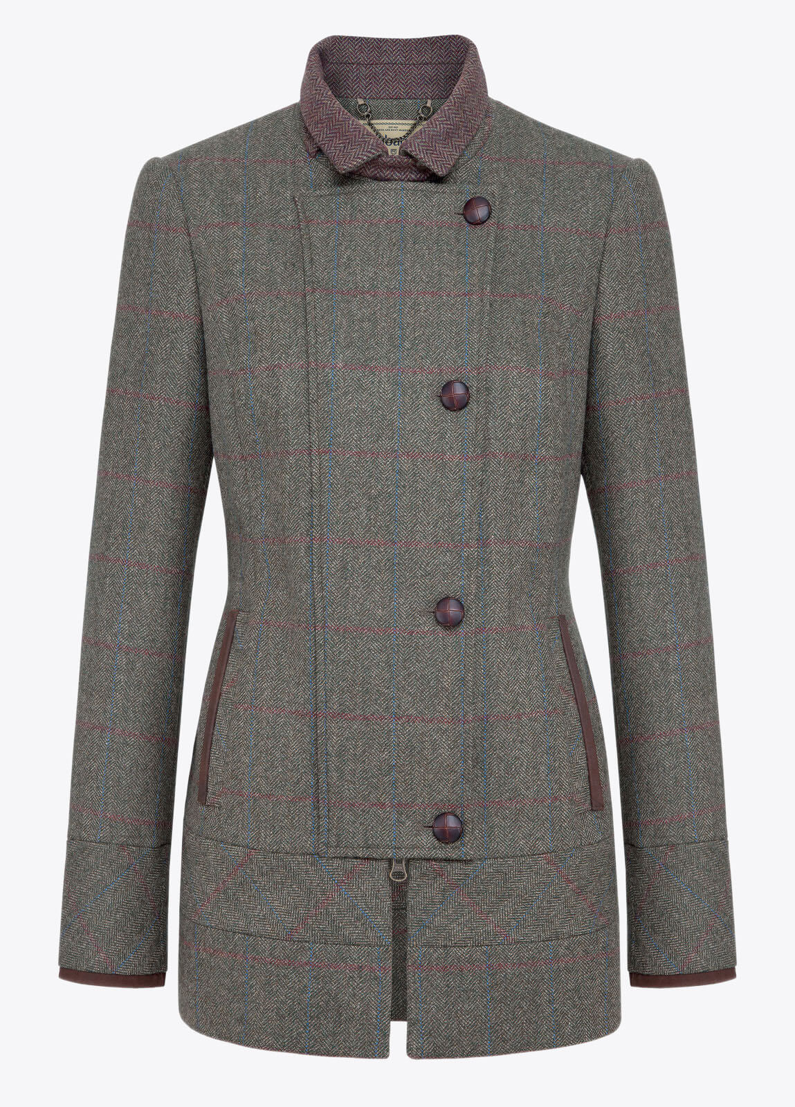Willow Tweed Jacket - Moss