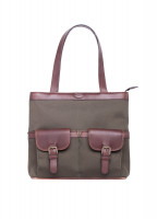 Raheen Tote-Style Shoulder Bag - Olive