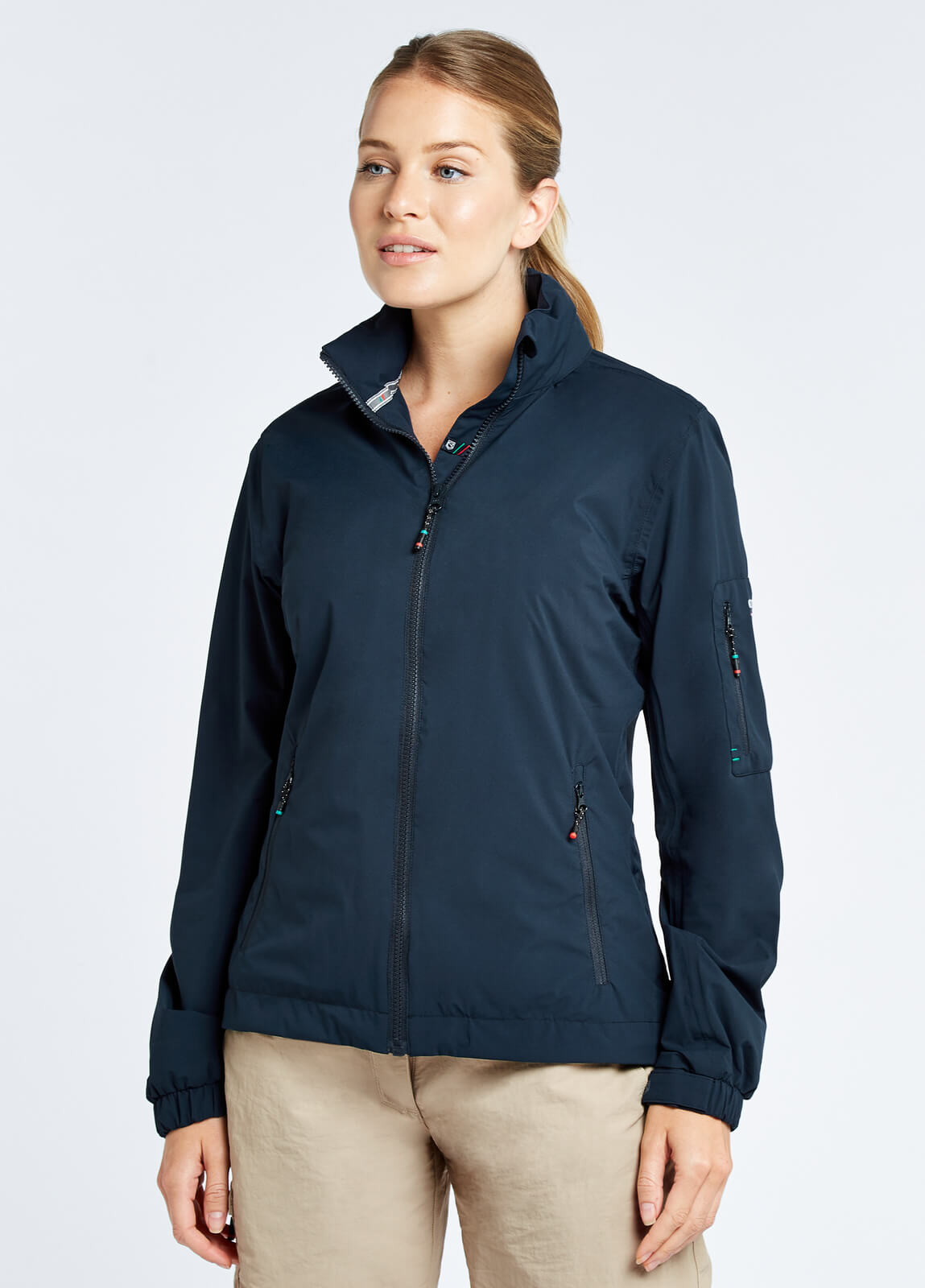 Corfu Women's Crew Jacket - Navy