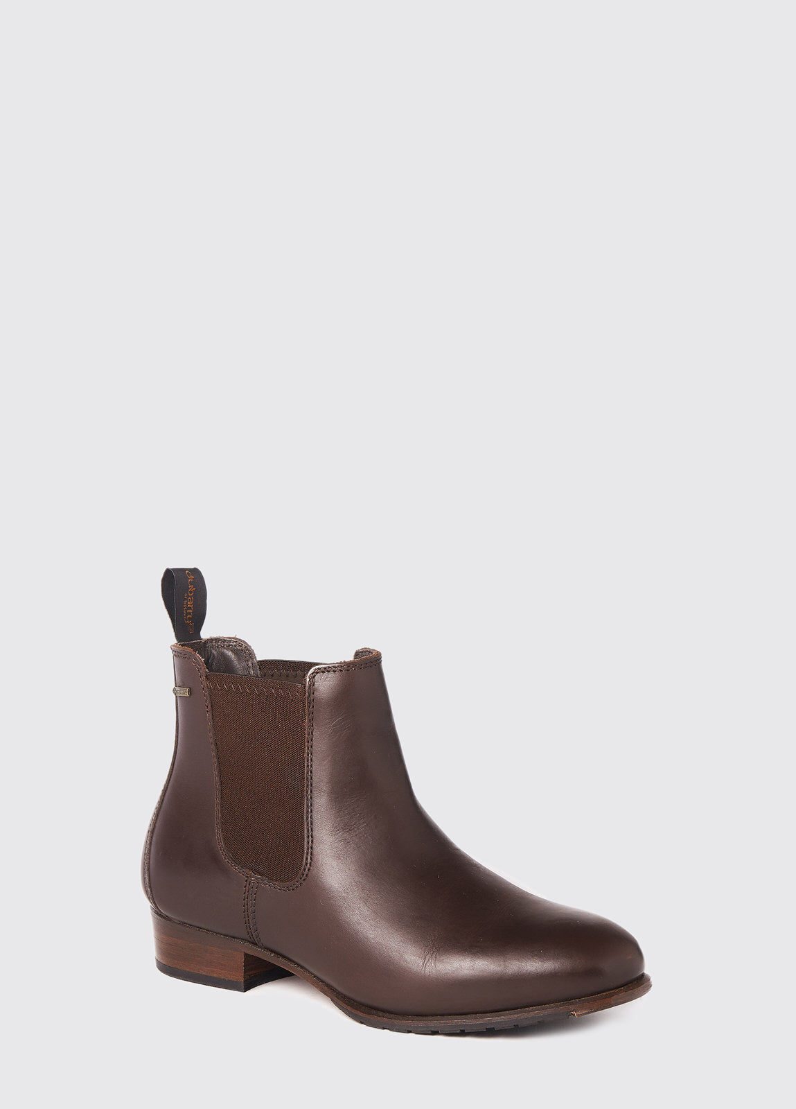 Cork Leather Soled Boot - Mahogany