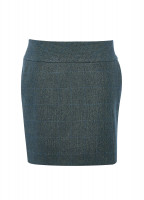 Bellflower Tweed Skirt - Mist