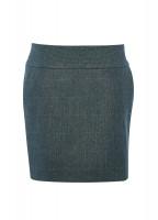 Bellflower Tweed Skirt - Mist