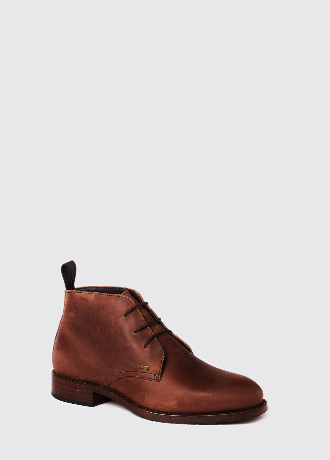 Waterville Mid Top Leather Boot - Bourbon