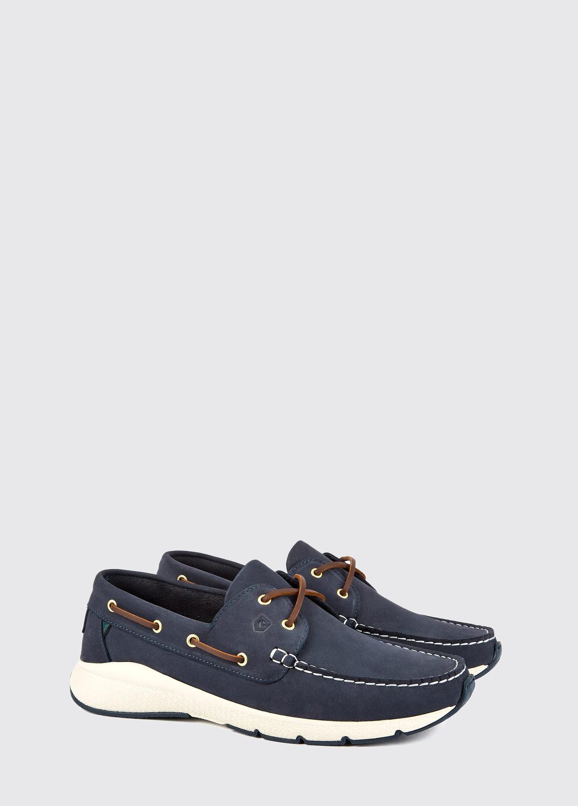 Dungarvan Lightweight Deck Shoe - Denim