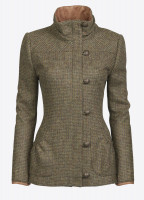 Bracken Tweed Coat - Heath