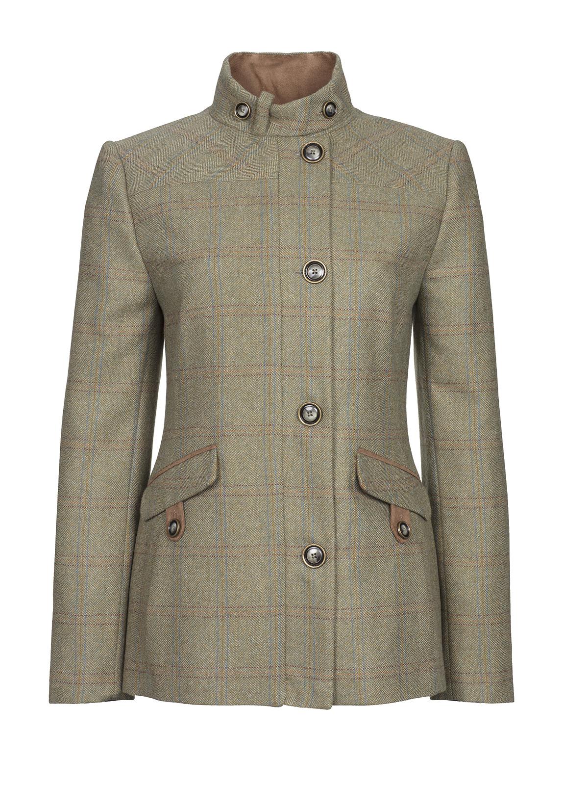 Dubarry_ Heatherbell Tweed Jacket - Acorn_Image_2