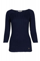Caltra Sweater - Navy