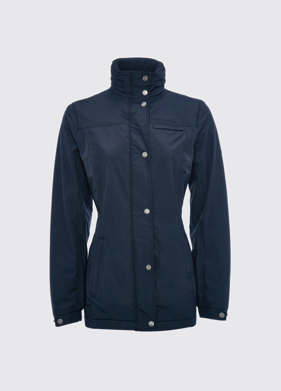 Aran Jacket - Navy