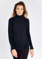 Brennan Knitted Sweater - Navy